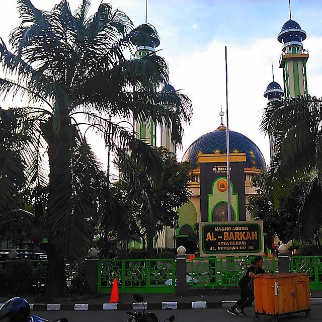 Pohon Kurma Masjid Al Barkah