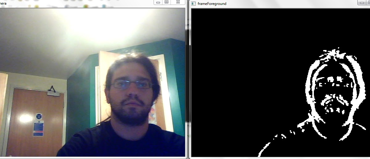 Thy Embedded: Background Subtraction Using OpenCV libraries and DevC