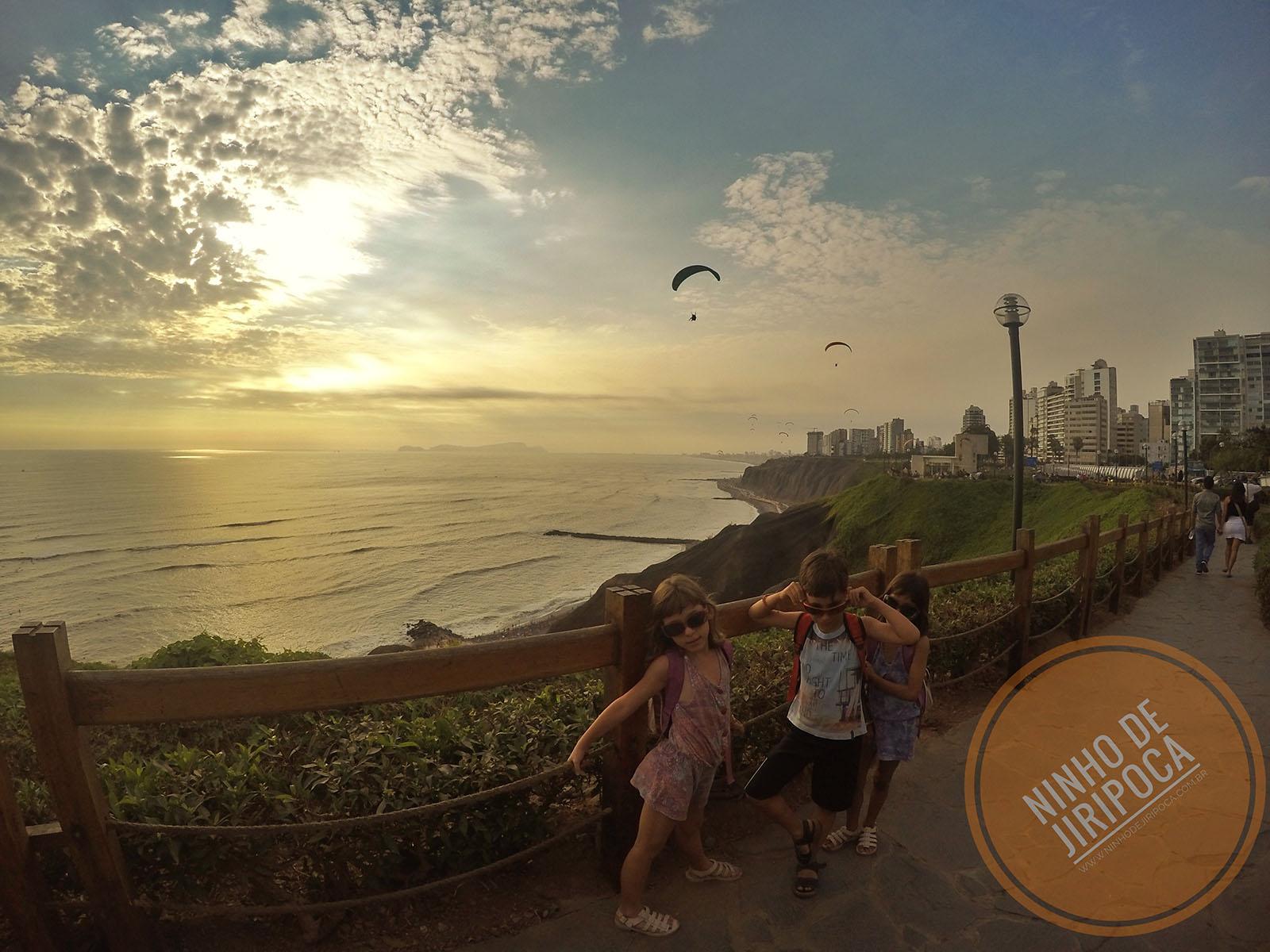 Malecon Miraflores em Lima: passeio com crianças