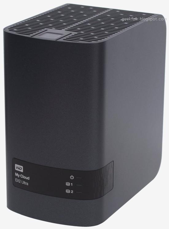 Western Digital My Cloud EX2 Ultra NAS Box 8TB