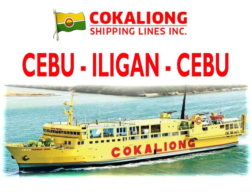 Cokaliong Cebu to Iligan