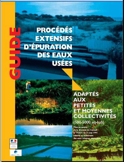 Procédés extensifs d'épuration des eaux usées adaptés aux petites et moyennes collectivités