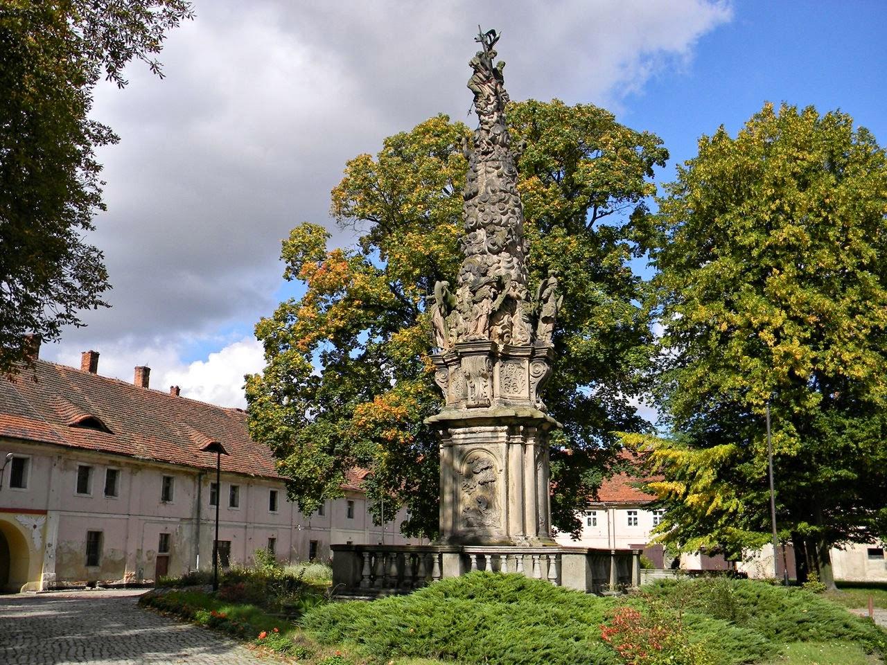Henryków, Wiedeń, figura, rzeźba, klasztor