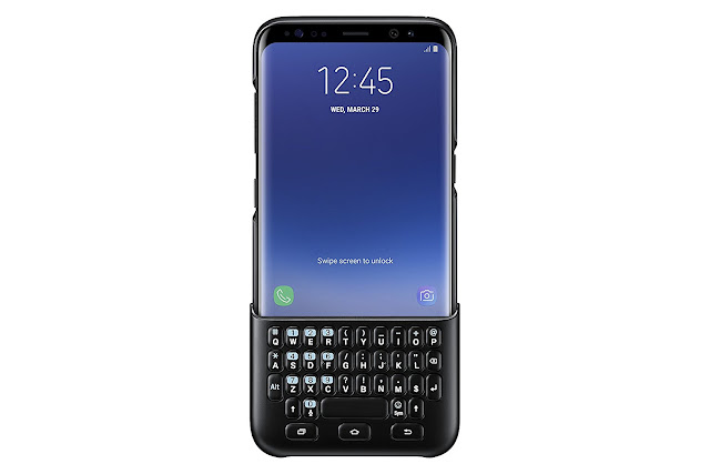 Samsung Galaxy S8 Plus Keyboard Cover Accessory