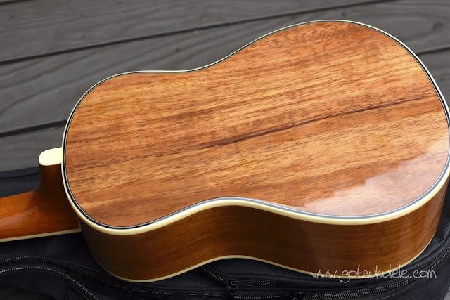 Fender Montecito Ukulele back