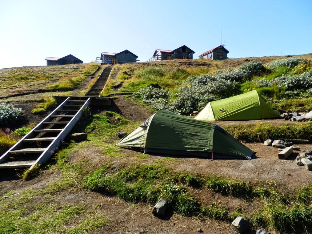 Vistas-del-campamento-hut-de-Emstrur-en-Islandia