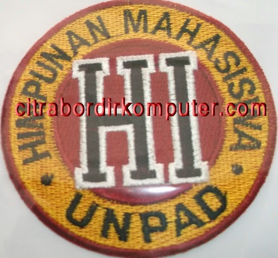 logo atribut bordir komputer Himpunan Mahasiswa UNPAD