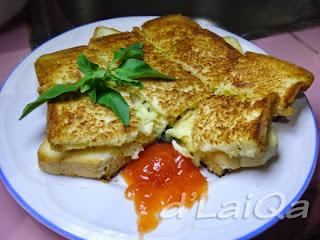 Roti Lapis Ayam Keju ala Rika (1)
