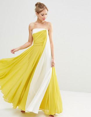 vestidos largos sin manga