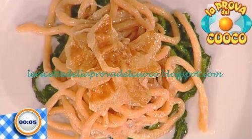 Ombricoli con guanciale e cicoria ricetta Fava da Prova del Cuoco