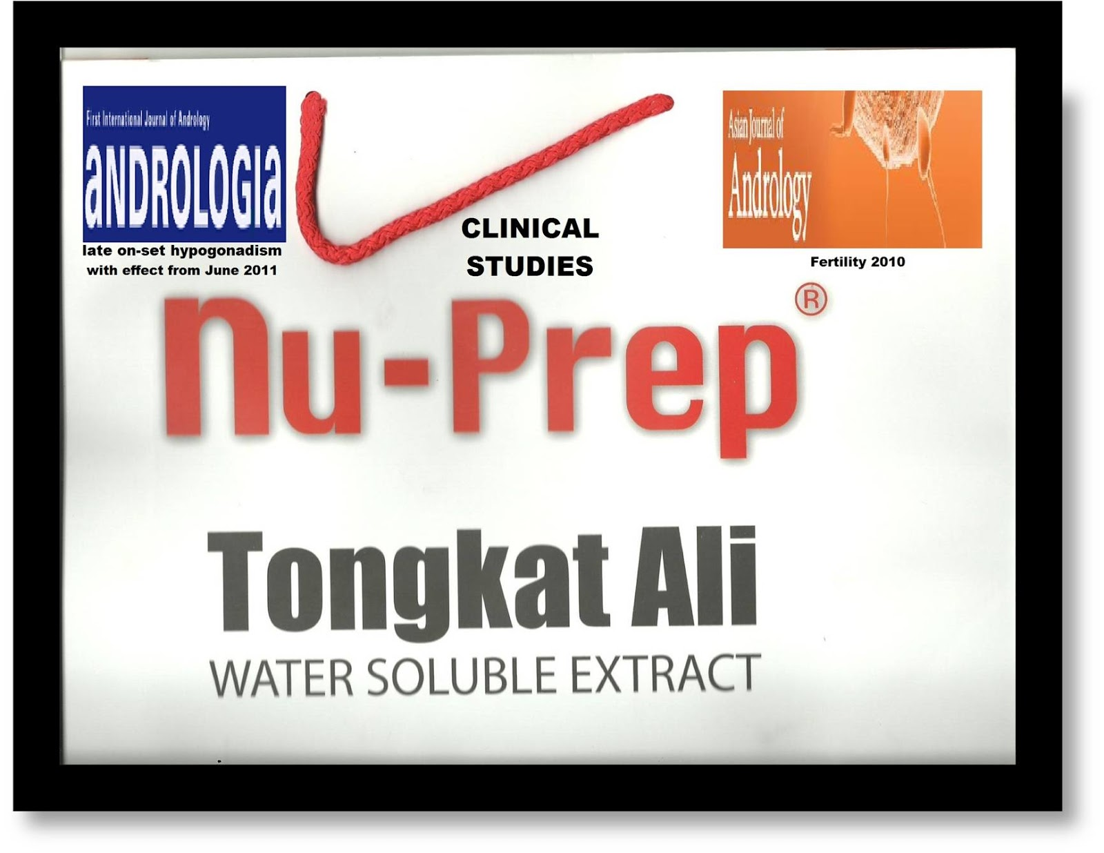 supplemente mit tongkat ali