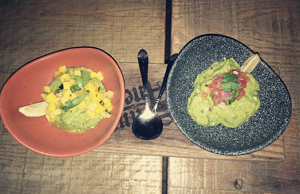 Guacamole at Saint Anejo Mexican Restaurant in the Gulch, Nashville Tennessee.