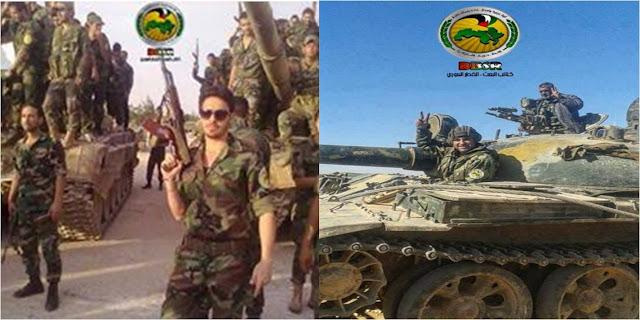 Άρματα μάχης των Ταξιαρχιών του κόμματος Μπάαθ