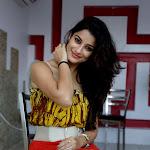 Madhurima Hot Stills in Red Skirt