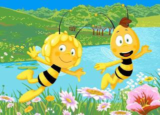 du tricot et des jouets maya l 39 abeille. Black Bedroom Furniture Sets. Home Design Ideas