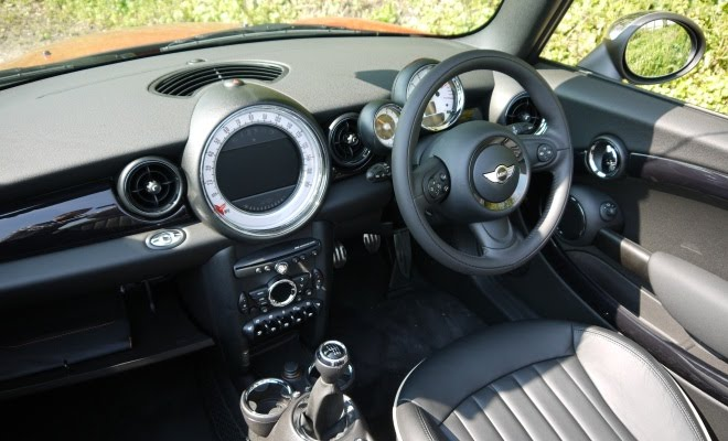 Mini Cooper SD Convertible interior