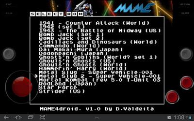 MAME All Roms 0.37b5 Para Android [Descargar] [ZS]