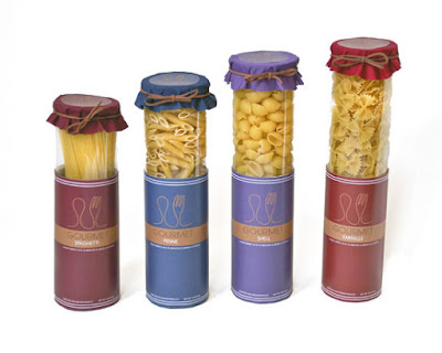 Gourmet Pasta Package Design