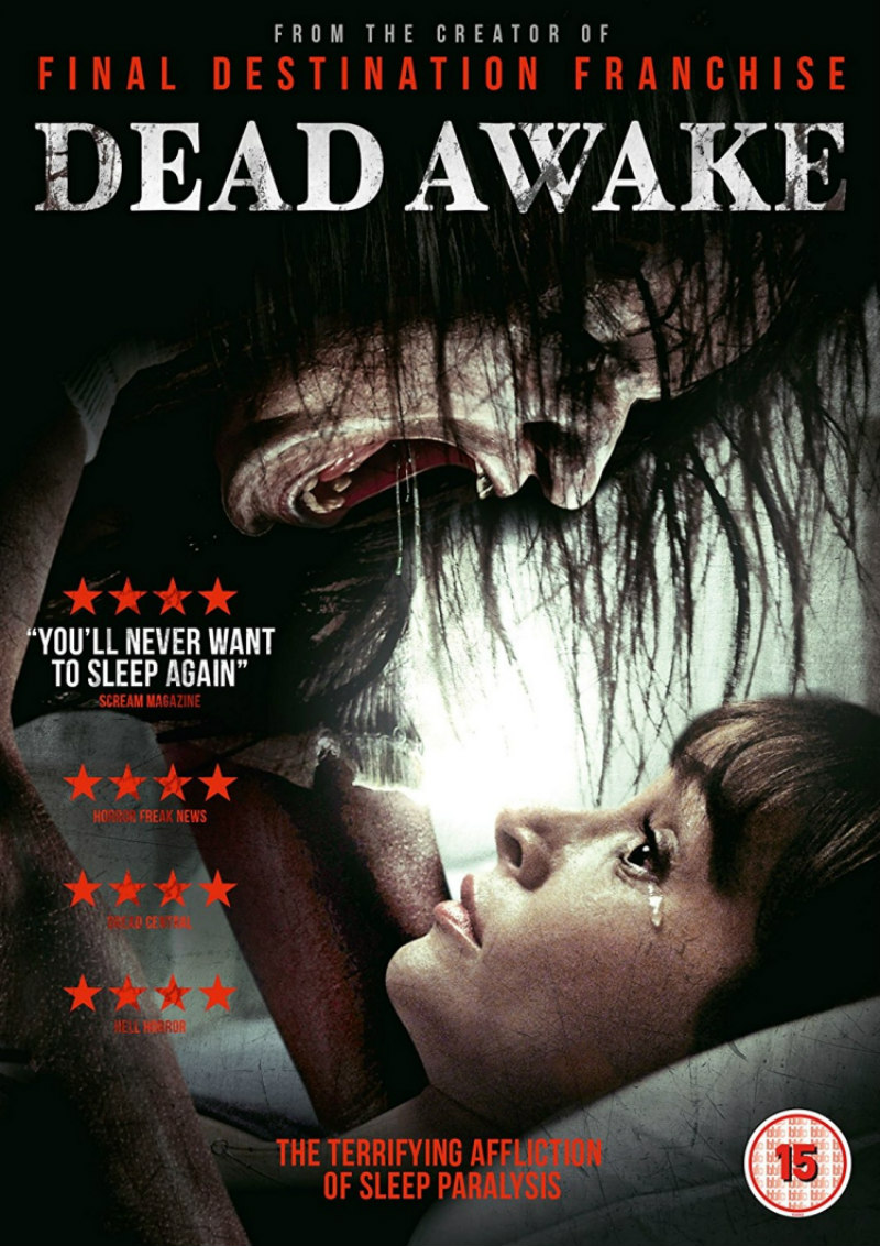 dead awake movie uk dvd