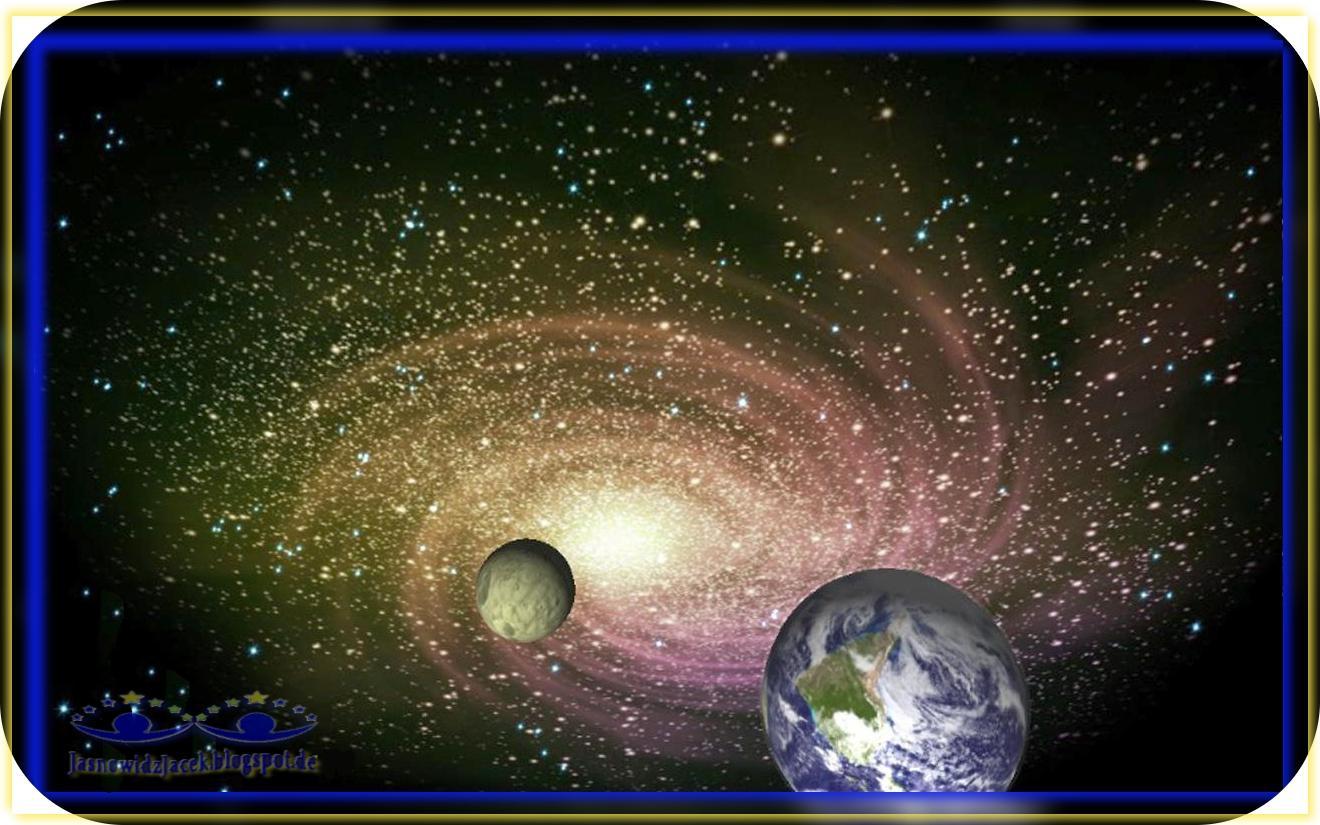 Piękno wszechświata - Galaktyka Spiralna - Planety