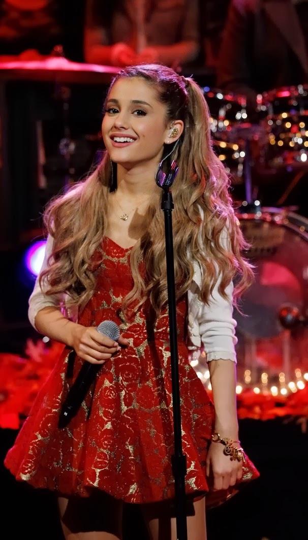Red Carpet Dresses Ariana Grande Rockefeller Center