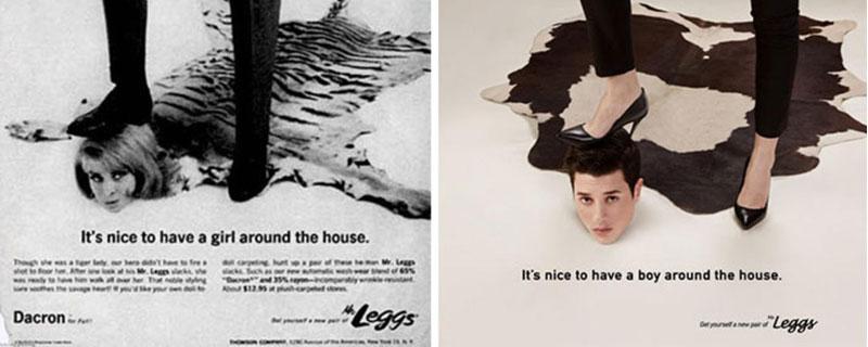 Gráficas publicitarias machistas