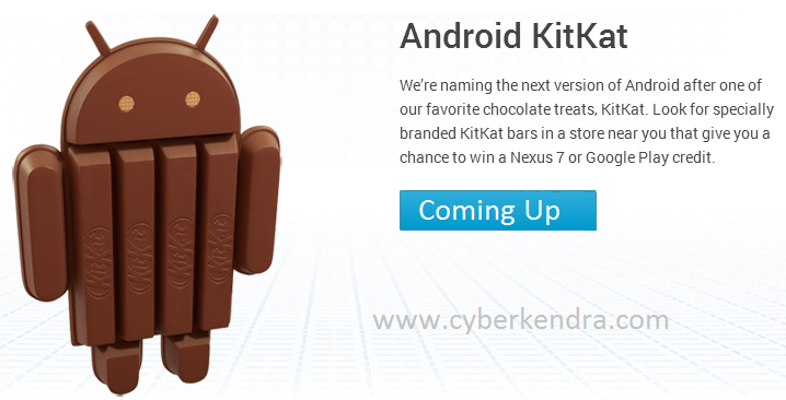 Google Announces Next version of Android as Kitkat, naming the next version of Android,Google Announces 1B Total Android Activations, Names Next Version 'KitKat', Android Kitkat is coming soon, Android 5 as a Kitkat, Google Kitkat, news for Android Kitkat