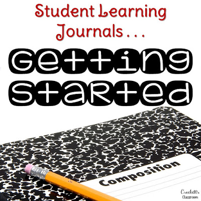 Student Learning Journals . . . Getting Started.  Have you been wanting to use journals in your classroom?  Here's some practical advice on how to get that ball rolling!