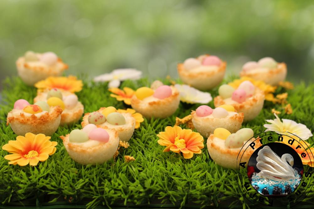 Nids de Pâques à la coco