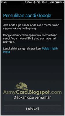 gmail daftar masuk di android