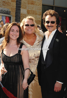 Former Soap Opera Digest Editor Stephanie Sloane, Carolyn Hinsey and Soap critic Michael Logan at the 34th Annual Daytime Emmy Awards - photo from photoshelter.com