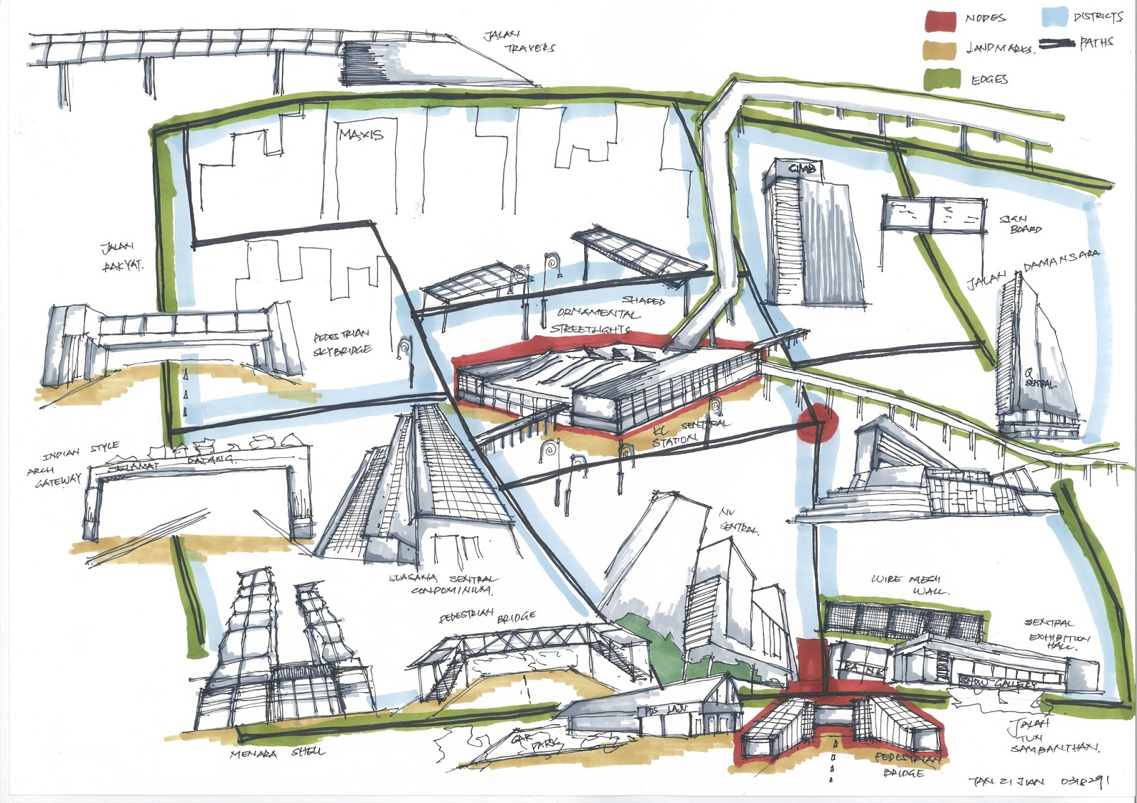 theories of architecture urbanism cognitive mapping