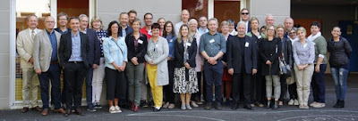 Group photo of participants in Clermont-Ferrand ENVITER General Meeting