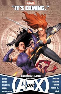 Especial: Vingadores vs. X-Men, HQs e novidades para 2012. 11