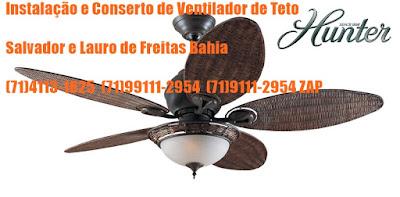 Ventilador de teto sem força pra rodar consertamos em Salvador-BA-71-4113-1825