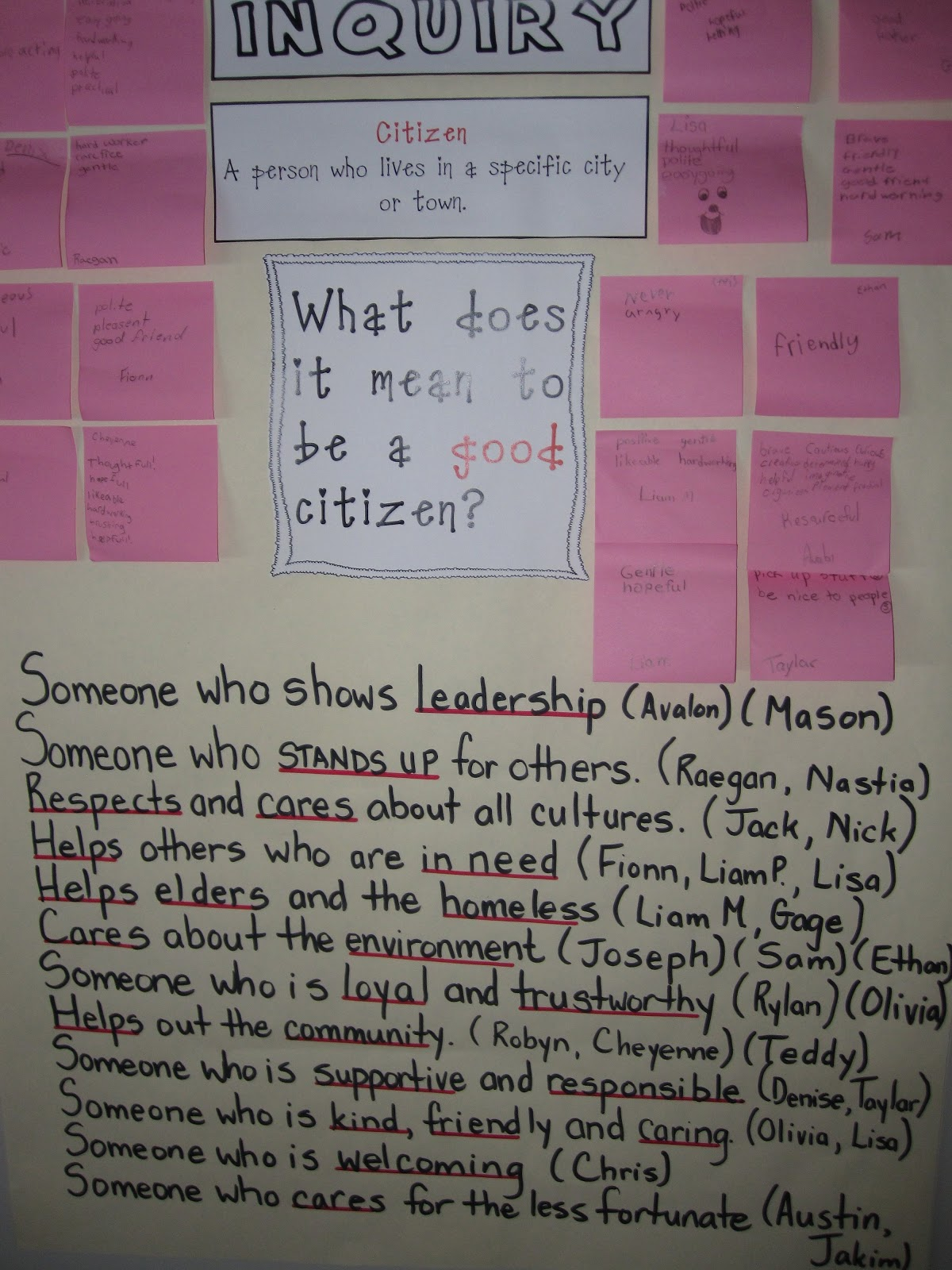 Good Citizenship Examples Mean to be a good citizen Good Citizenship Examples