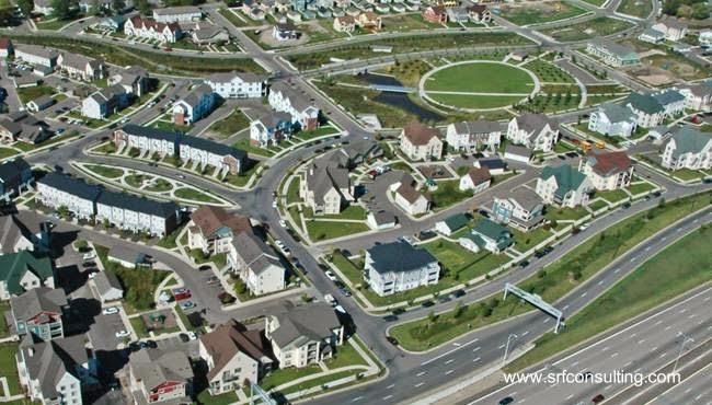 Imagen del renderizado de un plan urbanístico