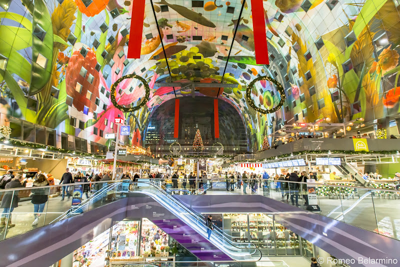 Markthal Interior Rotterdam Things to Do