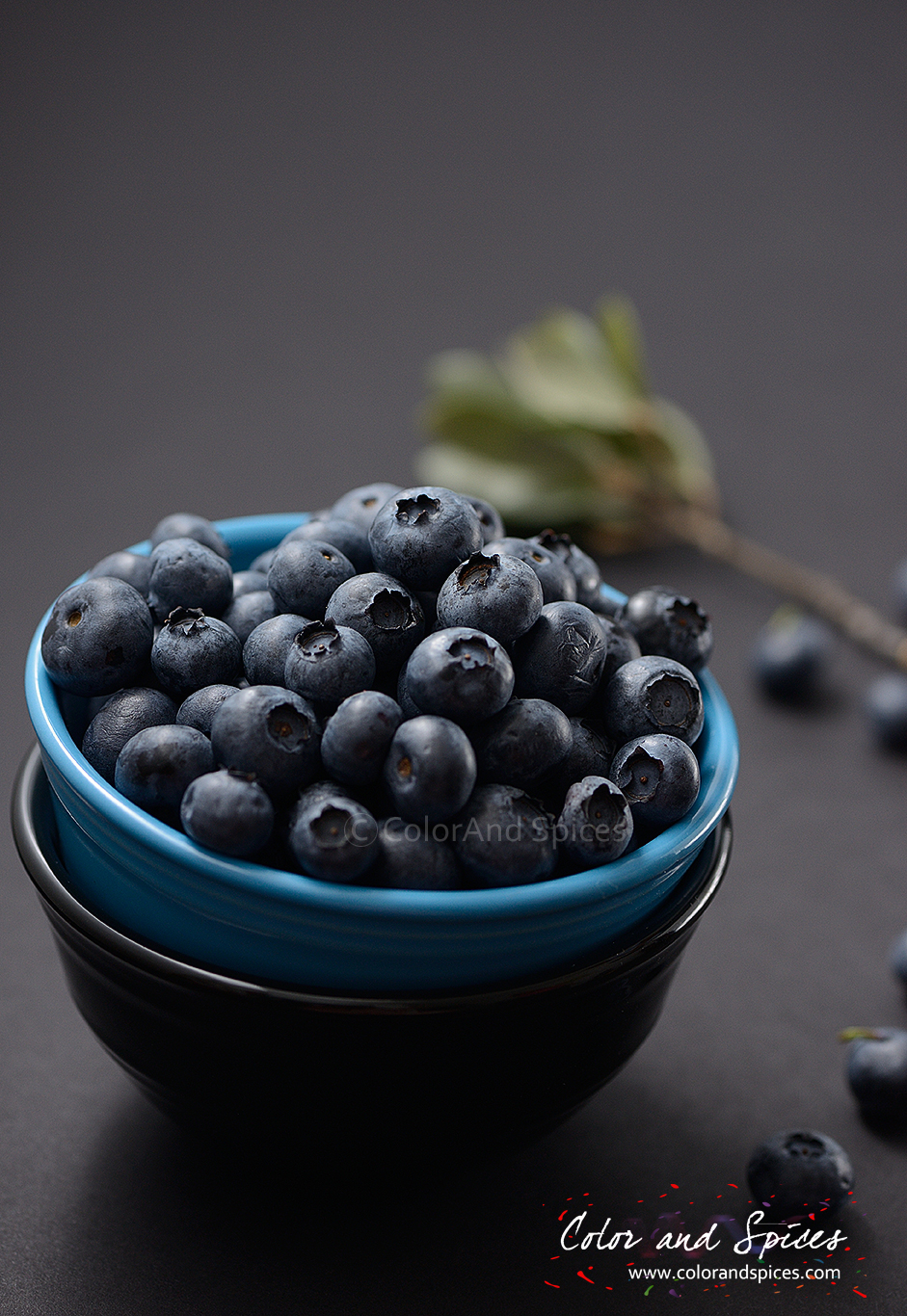 Color and Spices: Blueberry cake