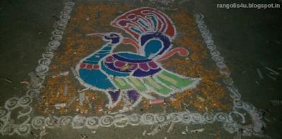 Pujnabi Festival Rangolis