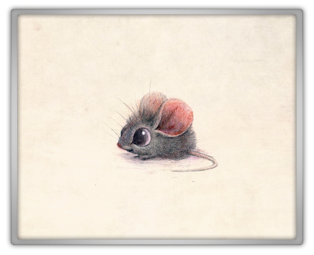 The little Mouse Cute kawaii drawing house troubles real life update rip daily