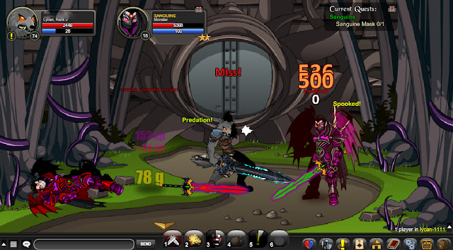 Fastest Lycan Rep Bot Fast AQW