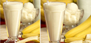 Banana Milk Shake (Muzlu Sut)