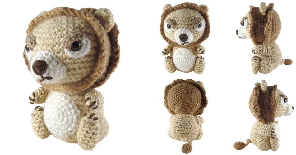 Game Of Thrones Amigurumi Pattern Free : i crochet things: Free Pattern Friday: Lannister Lion ...