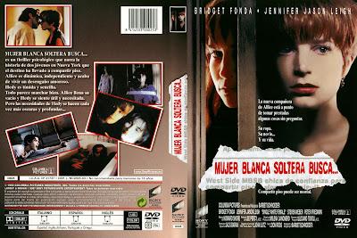 Caratula dvd: Mujer blanca soltera busca... (1992)