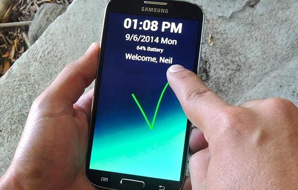 طريقة جديدة لفتح هاتفك ذكية بدون النمط او الـ PIN