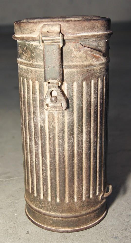 tubo porta maschera antigas tedesco