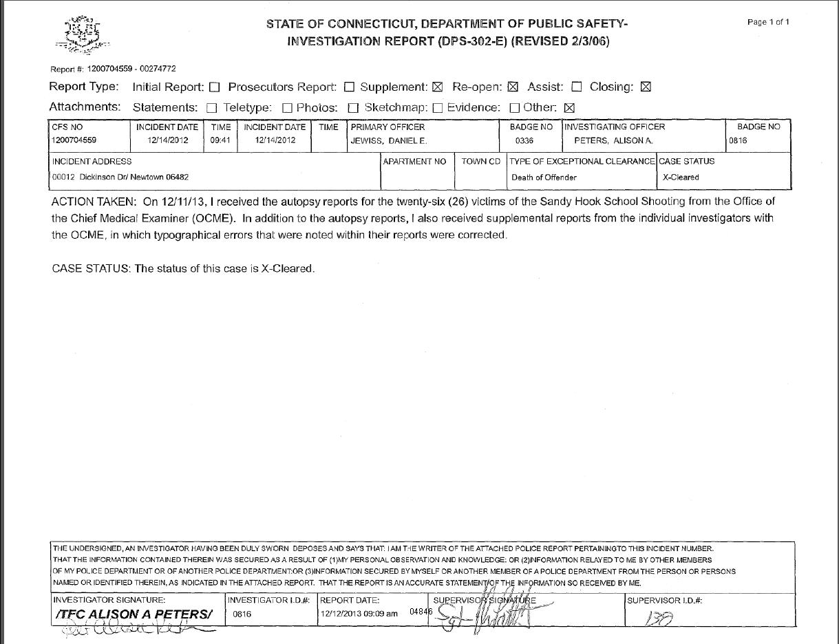sample homicide police report – Homicide Report Template