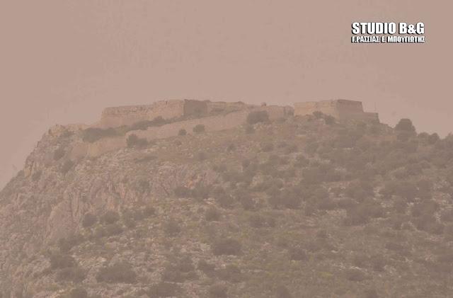 Αφρικανική σκόνη «σκεπάζει» την Ελλάδα
