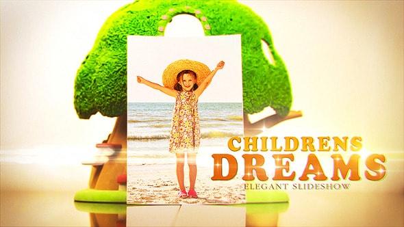 قالب افتر افكت احلام الاطفال والطفولة | CS5 فأعلى